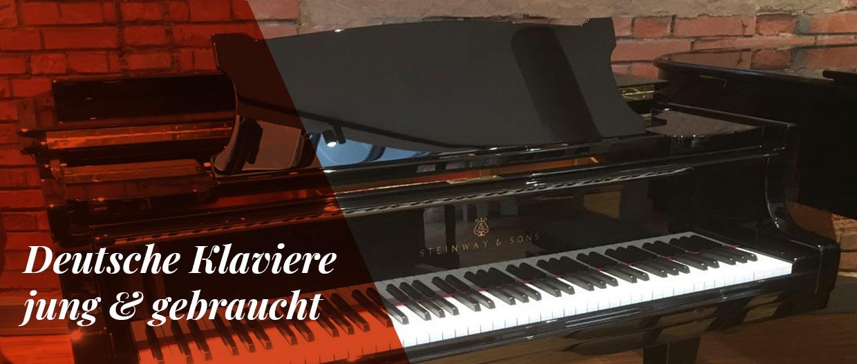Deutsche Klaviere jung & gebraucht