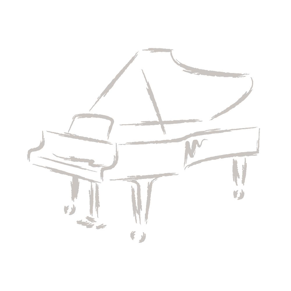 August Förster Klavier Modell 125 G weiß poliert