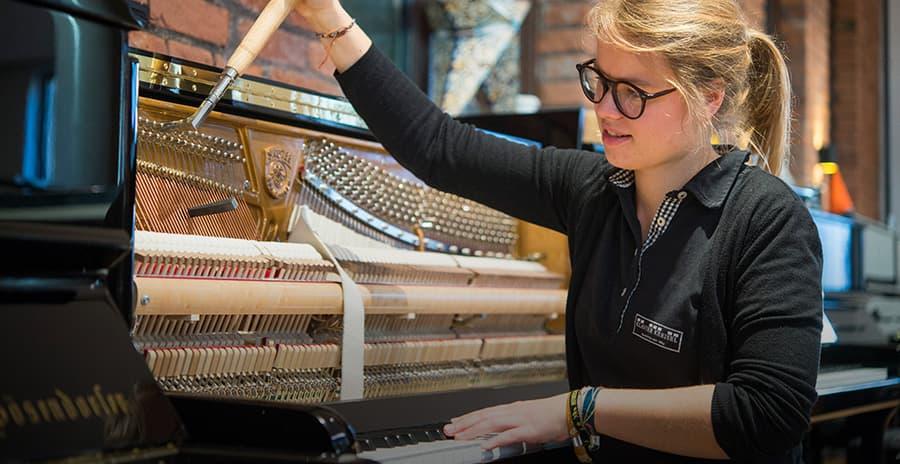 Ausbildung zum Klavierbauer Klavier Kreisel Fürth Nürnberg