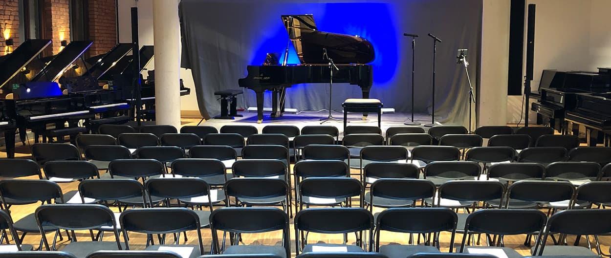 Konzert Location Klavier Kreisel Fürth Nürnberg