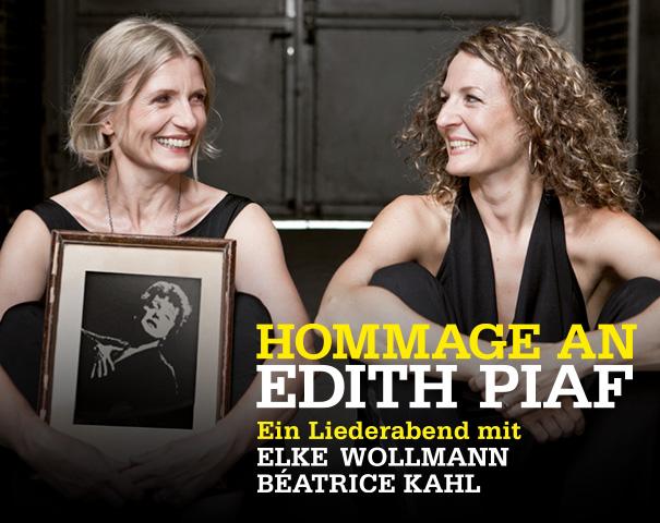 Elke Wollmann (Gesang) und Béatrice Kahl (Klavier)